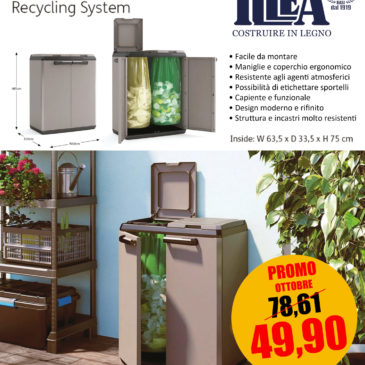 Contenitori di design per rifiuti